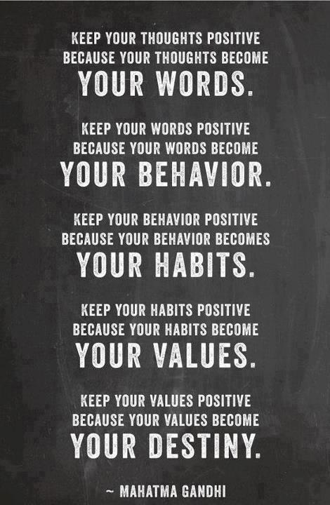 Ghandi positive