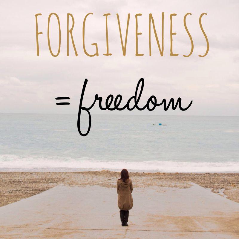 ForgivenessEqualsFreedom