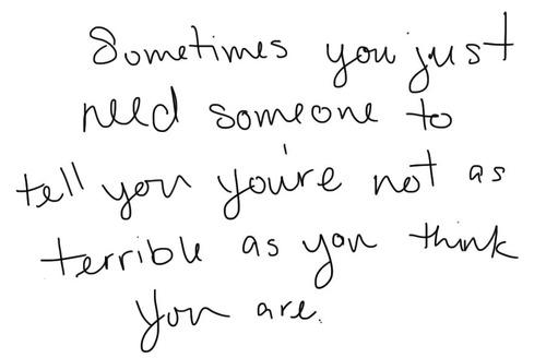 SometimesYouJustNeedSomeone