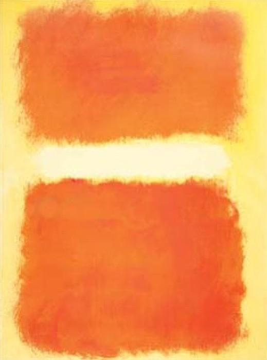 RothkoAcrylic on Paper 1968