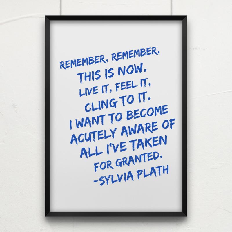 REMEMBER PLATH