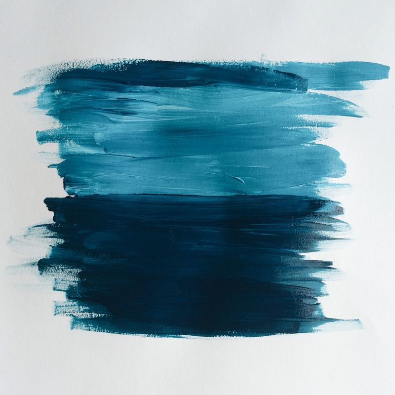 Blue with blue