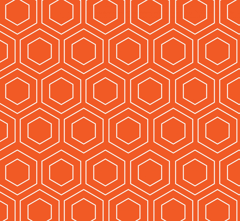 Geometric-wallpaper-pattern-orange